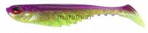 Berkley PowerBait Ripple Shad Purple Chartreuse 9